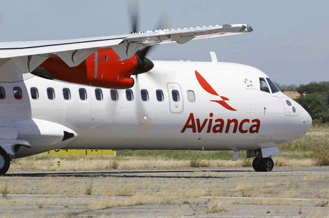 Avianca dejará de operar vuelos de cabotaje en Argentina por 6 meses
