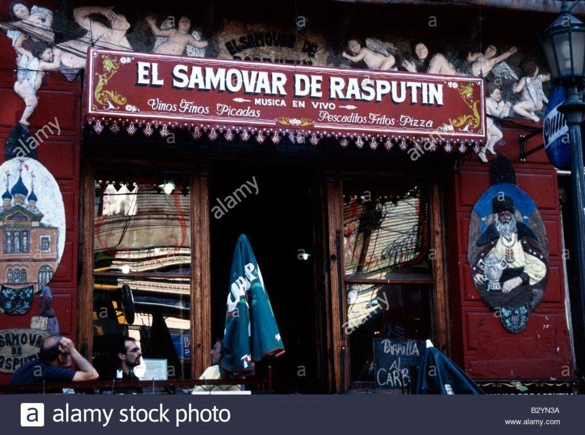 El Samovar de Rasputín y sus historias rockeras