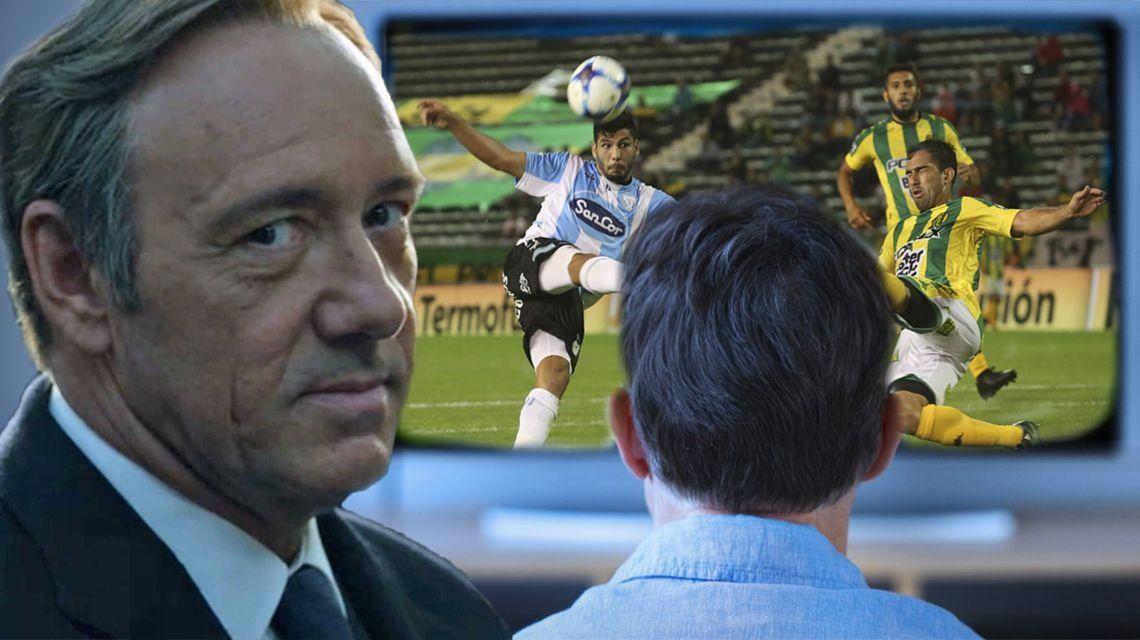 El fútbol que viene por TV: será más caro ver Aldosivi-Arsenal que House of Cards