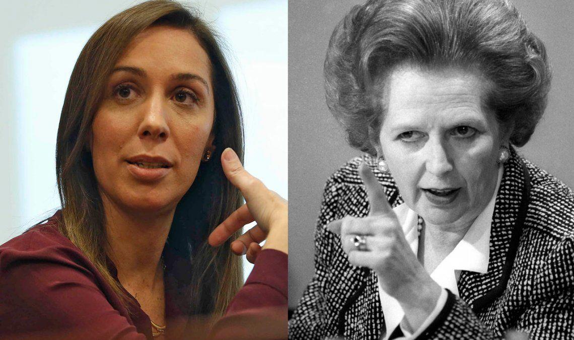 En España comparan a María Eugenia Vidal con Margaret Tatcher