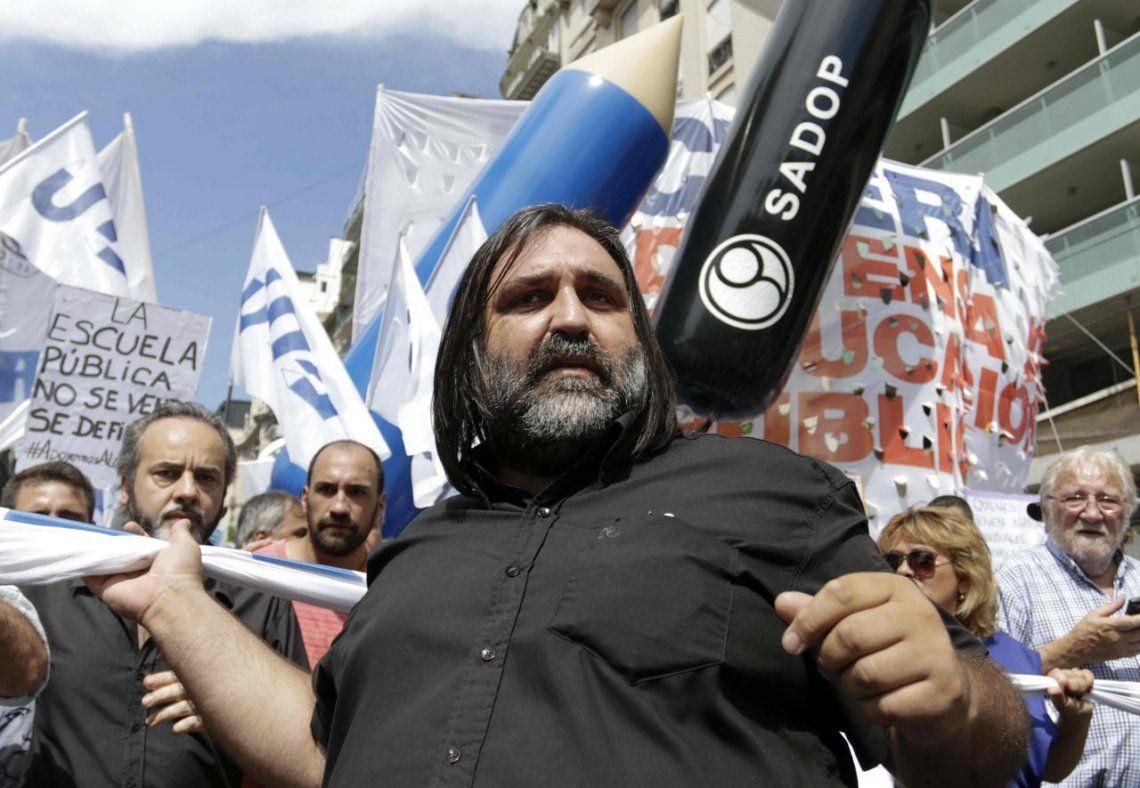 Baradel: El Ejecutivo está preocupado por la marcha del 21 de febrero