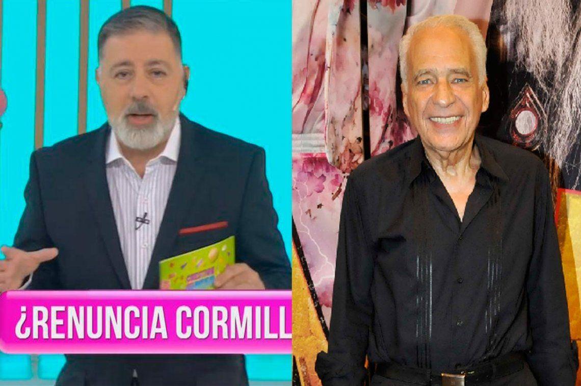 Cormillot denunció a su programa, renunció y volvió