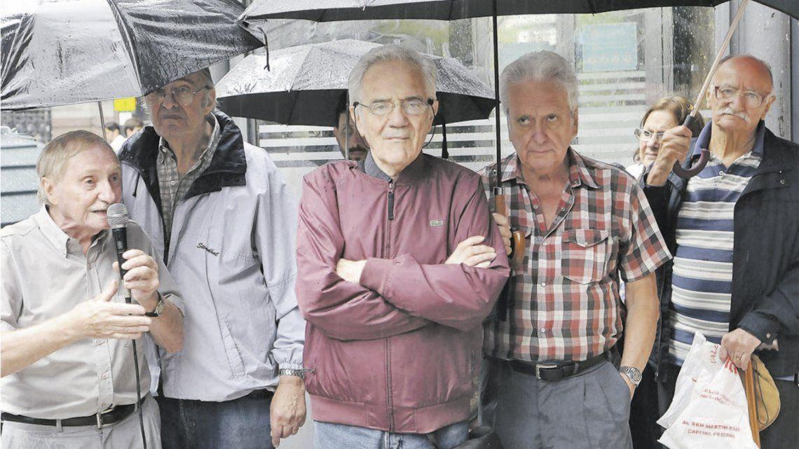25 años de las marchas de los jubilados