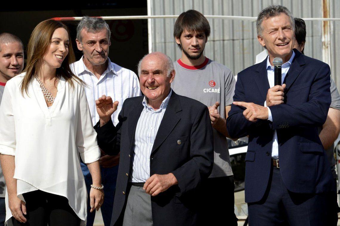 El respaldo de Macri a Vidal: Cada día la quiero más por las batallas que da