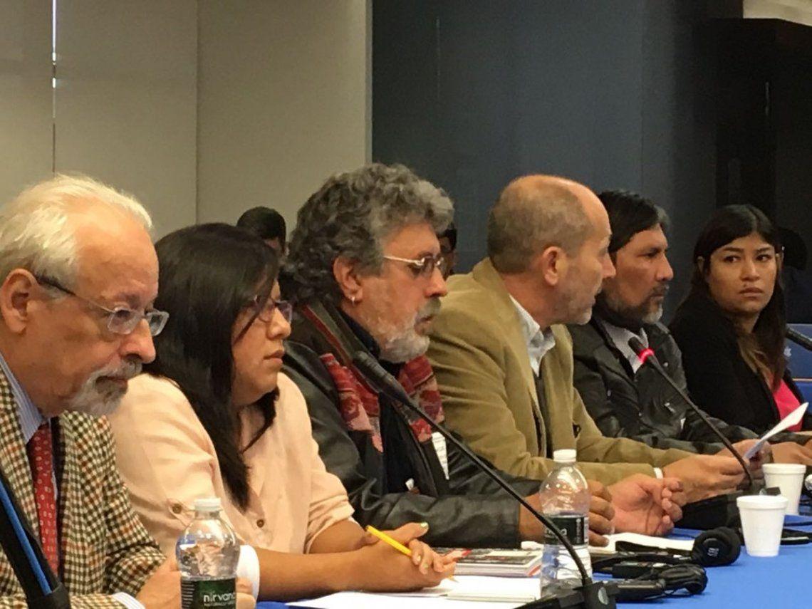 Palos van, palos vienen en Washington por la represión en Jujuy