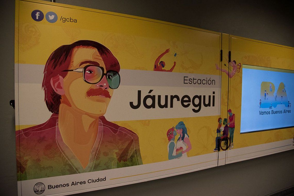 Estación de subte lleva el nombre de Carlos Jáuregui, el fundador de la CHA