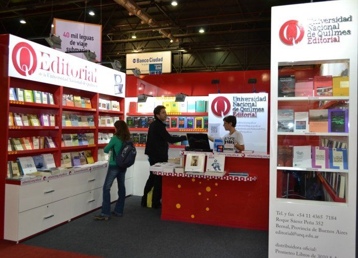 La Universidad de Quilmes llega a la Feria del Libro