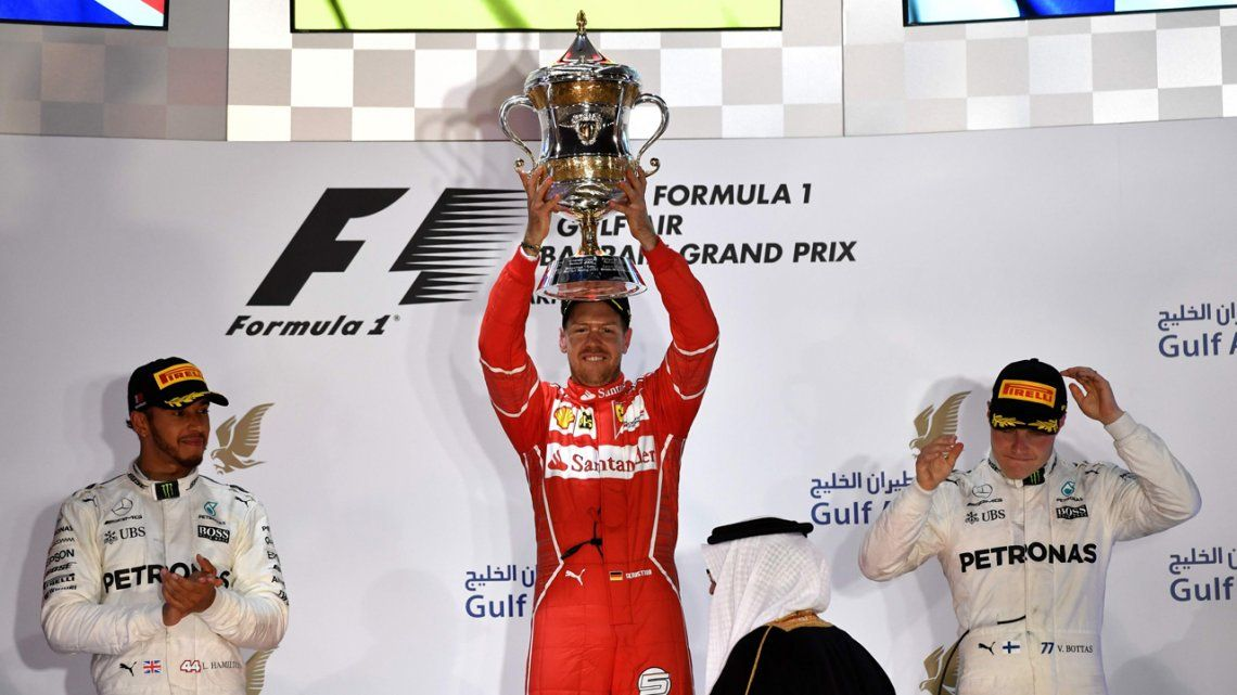 El Gran Premio de Bahrein se lo lleva Vettel
