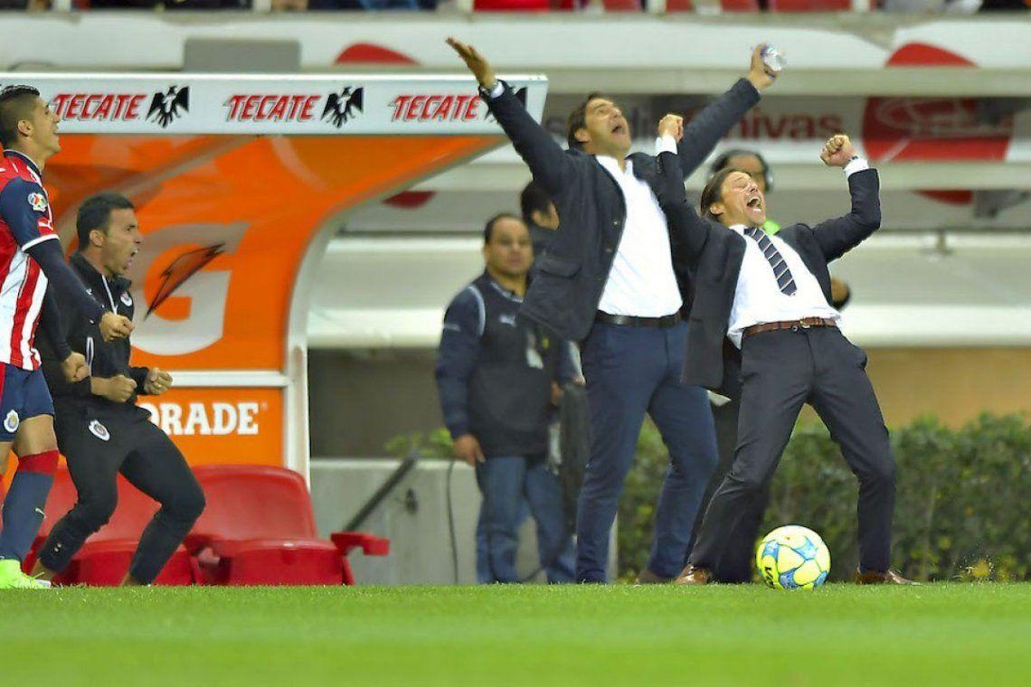 Almeyda, campeón en México: así motivó a los jugadores