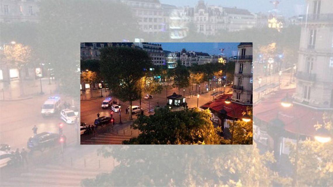 París: tiroteo en Campos Elíseos deja dos muertos