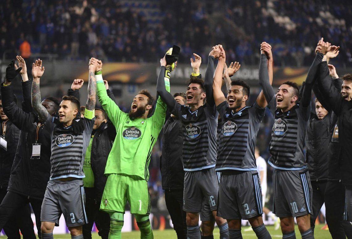 El Celta de Berizzo se clasificó a las semifinales de la Europa League