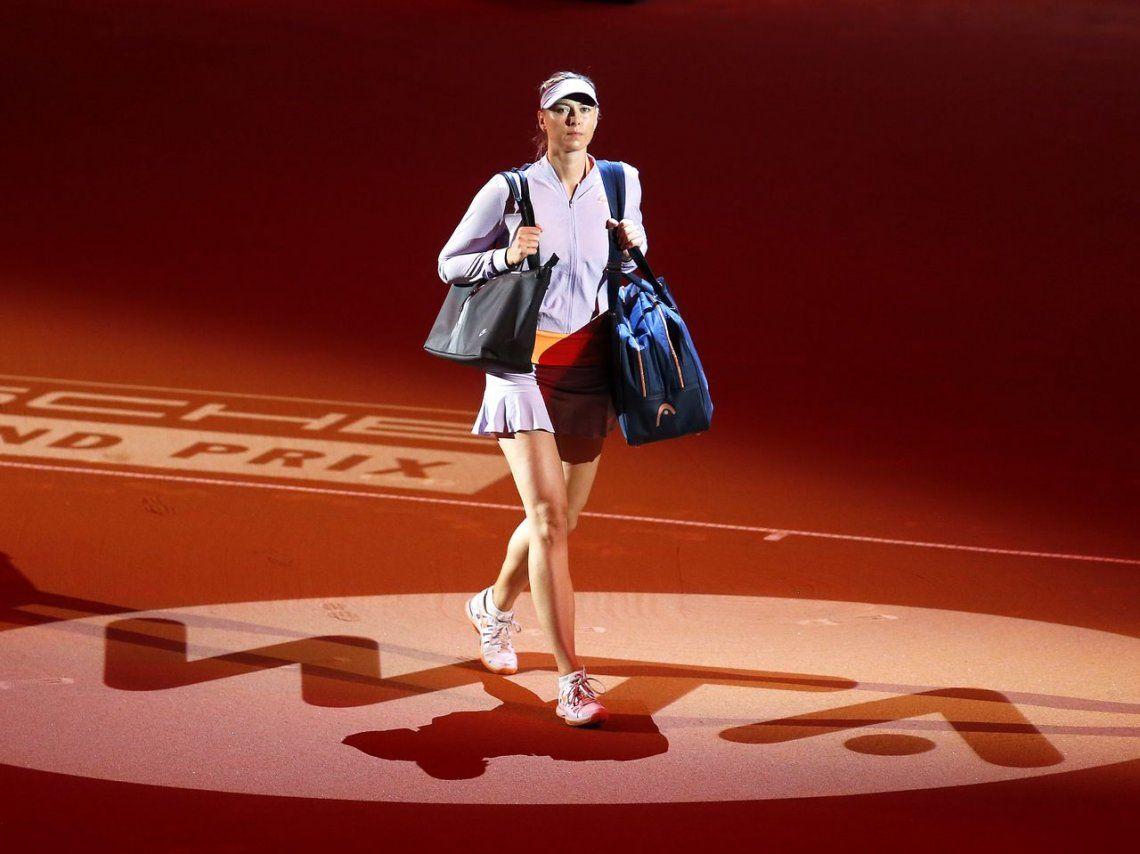 La rusa Maria Sharapova anunció su retiro del tenis