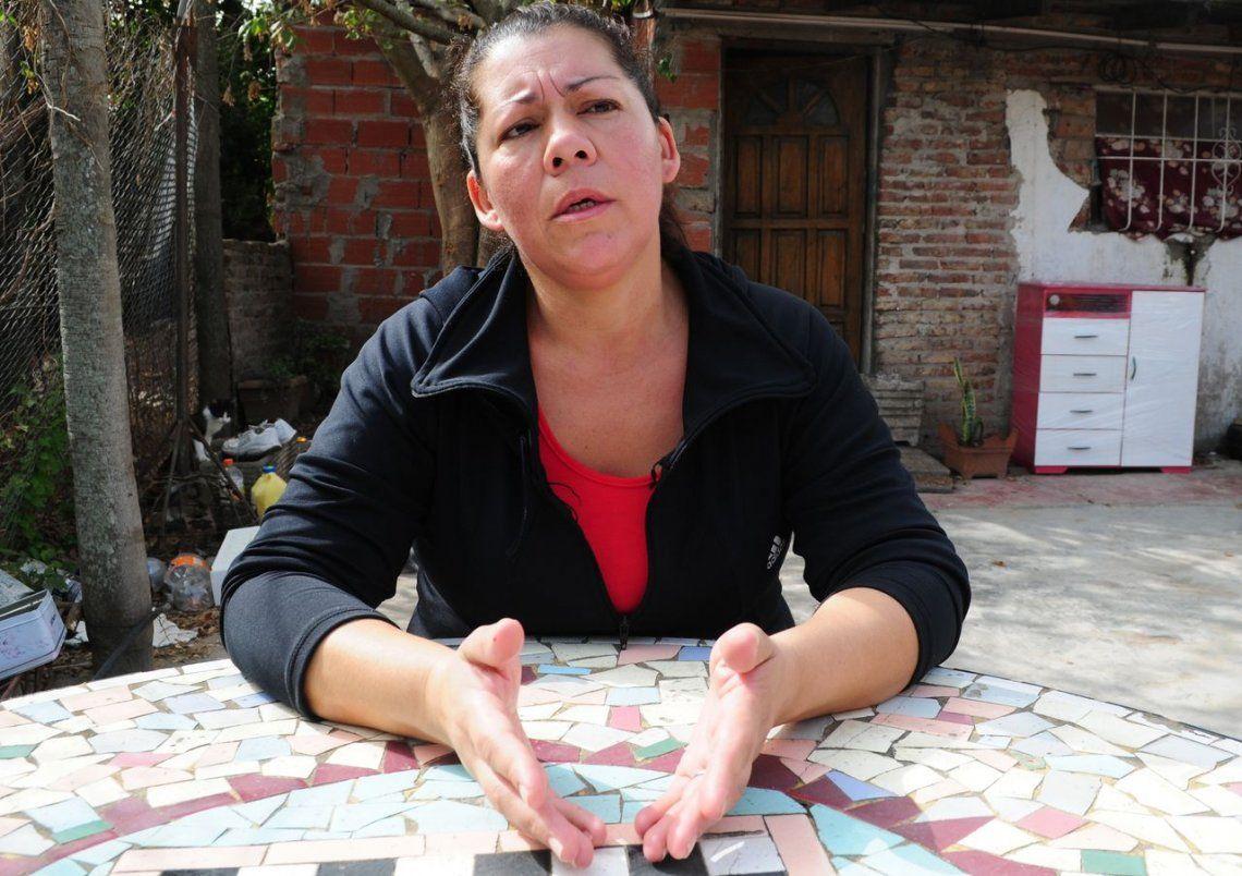 Marcela es la mamá de Jésica y abuela de la pequeña Lola. La Justicia nos niega a la pequeña