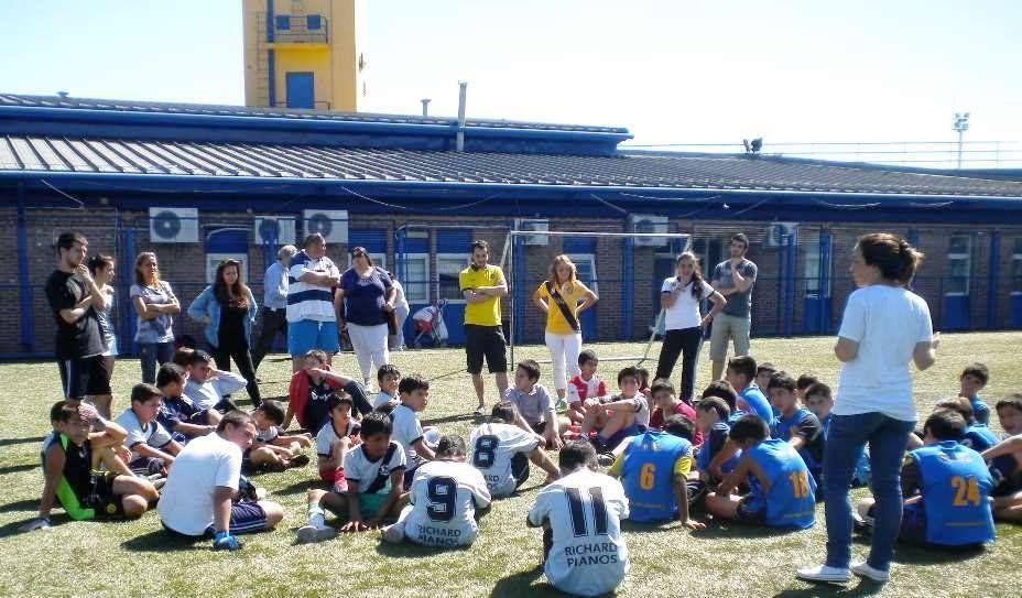 Vuelve la escuela de fútbol de Corazón Quemero