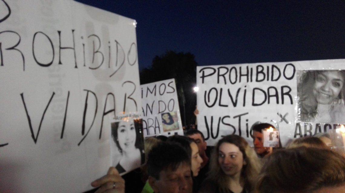 Familiares de Araceli Fulles marcharon para pedir justicia