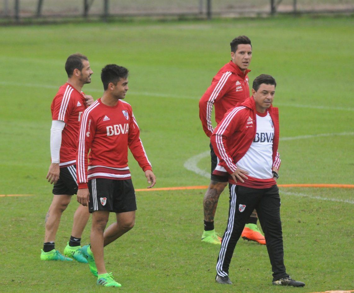 El Muñeco Gallardo empezó a recuperar jugadores para viajar a Madrid