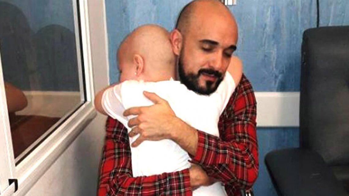 El tierno y valorable gesto de Abel Pintos