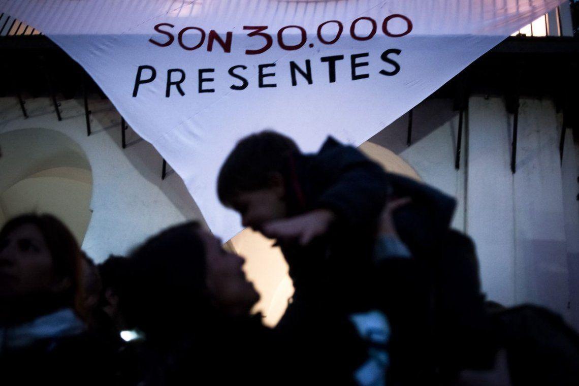 El gobierno bonaerense reconoce el número de 30 mil desaparecidos