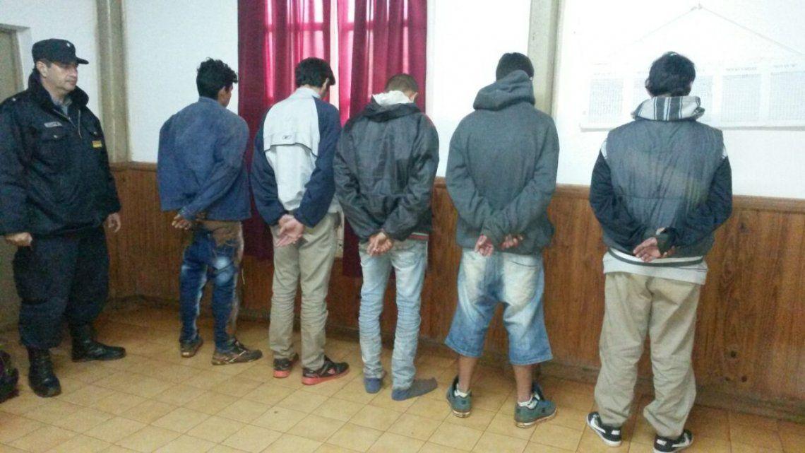 Procesan a 5 hombres que realizaban secuestros extorsivos