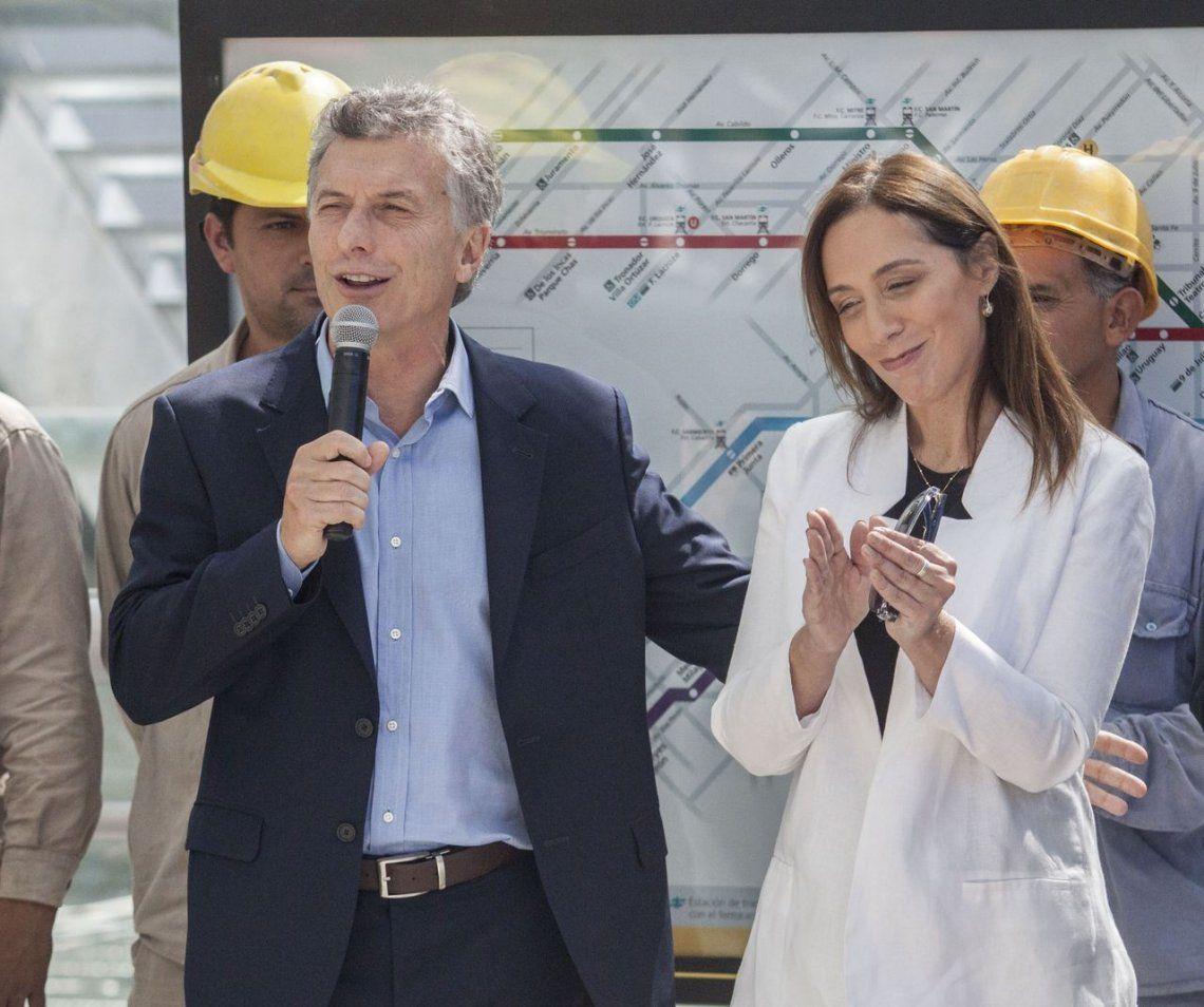 Docentes del SUTEBA escracharon a Macri y Vidal