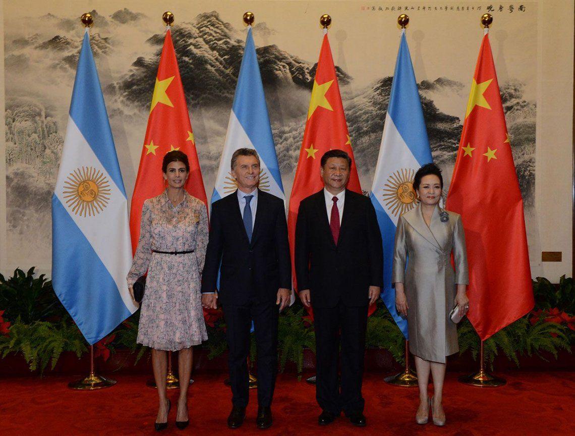 Macri destacó la vocación de China de profundizar la asociación estratégica