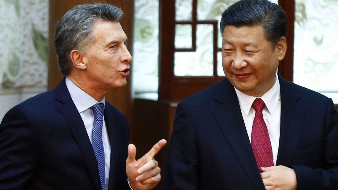 Mauricio Macri anunció que la Argentina exportará harina de soja a China