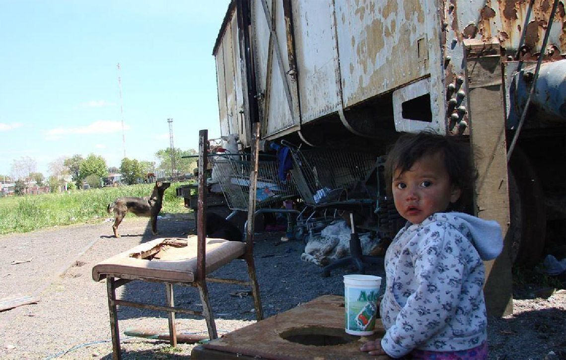 En la Argentina hay un 40,8% de pobres según la UCA