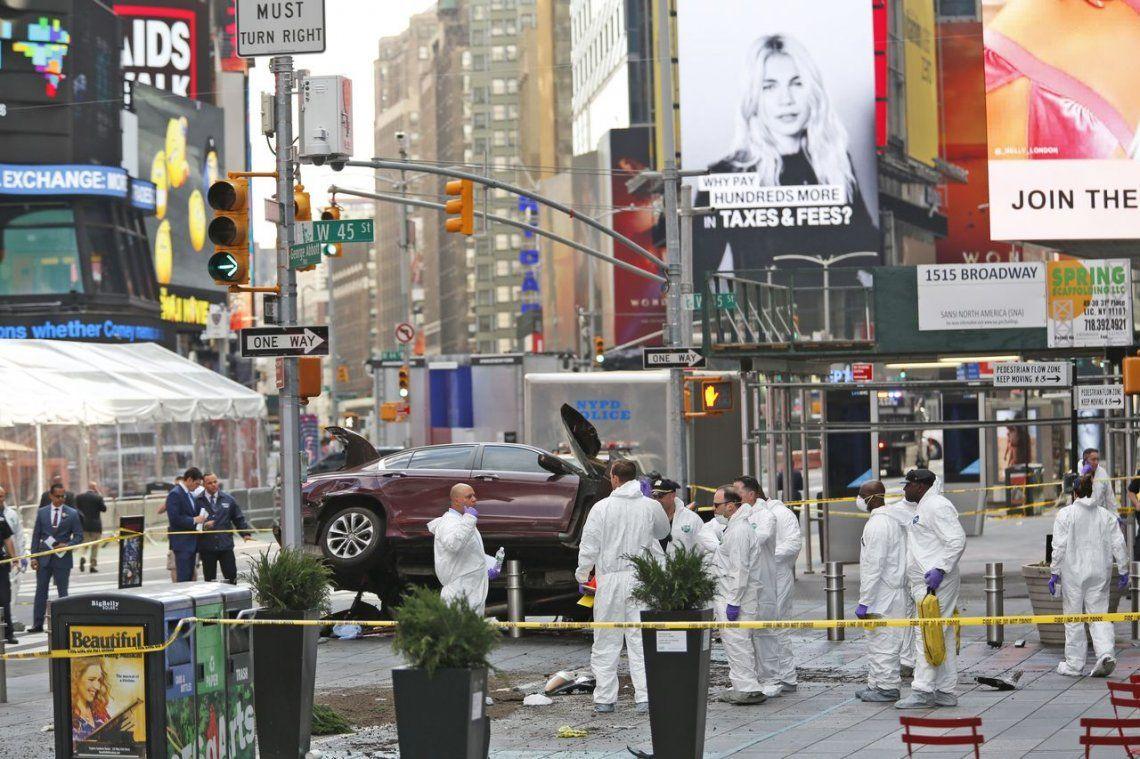 Video | Así atropelló a 23 personas el conductor descontrolado en Times Square