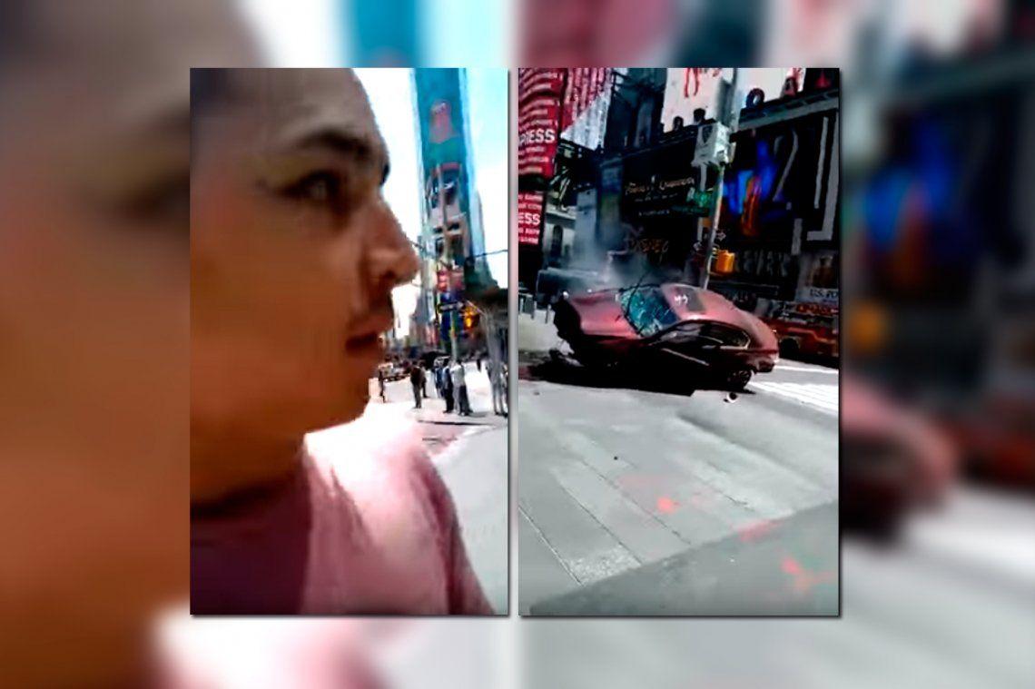 El argentino que se salvó de milagro en Times Square