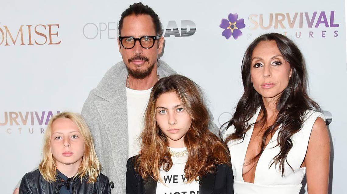La palabra y sospechas de la viuda de Chris Cornell sobre su suicidio