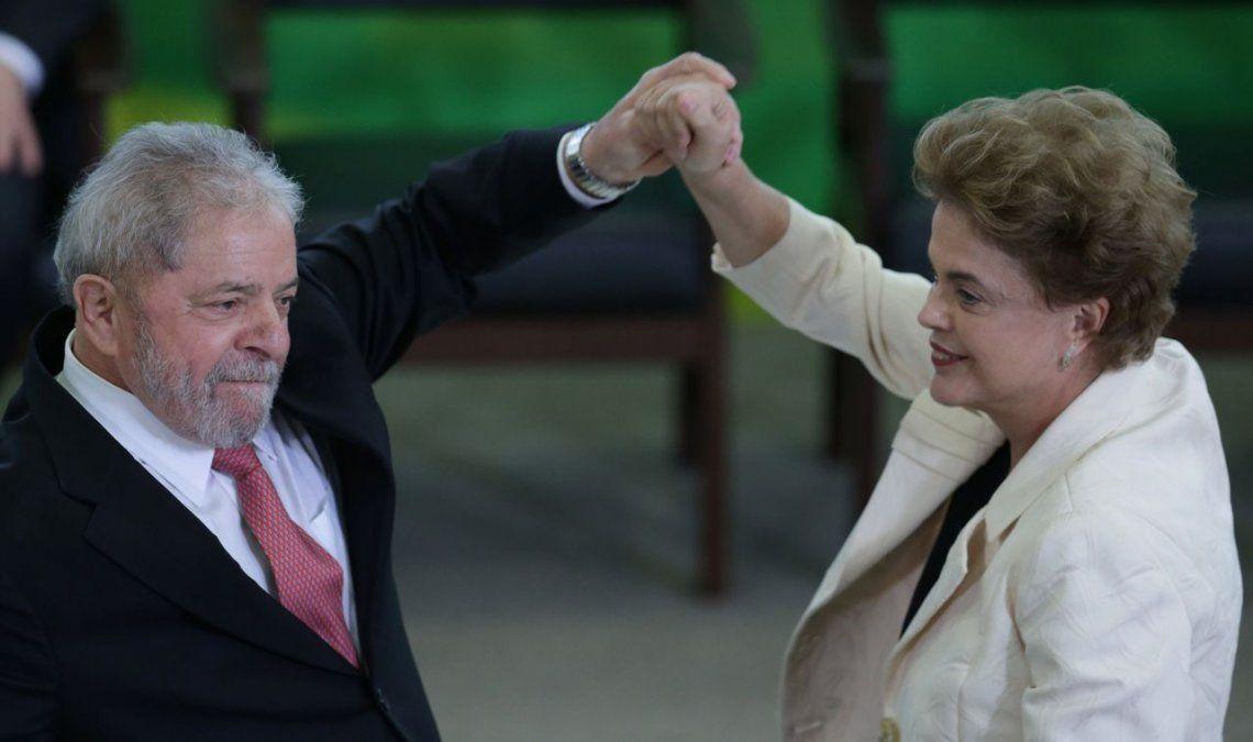 Revelan millonaria cifra para las campañas de Dilma y Lula da Silva