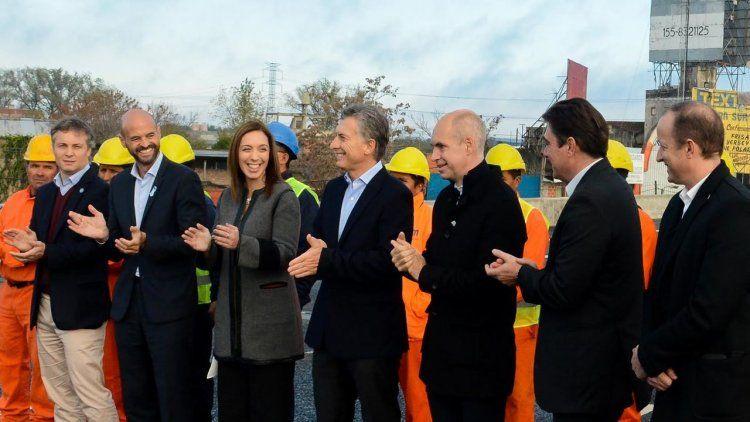 Macri volvió a citar a Perón en la inauguración de la mano provincia del Puente La Noria