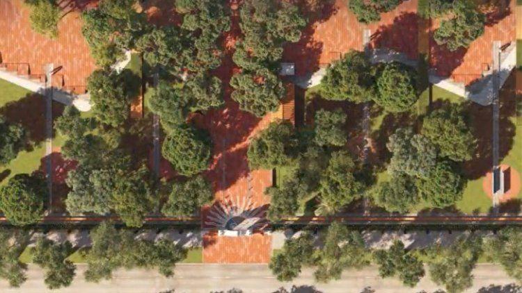 A desalambrar: parte de la Quinta de Olivos se convertirá en una plaza pública