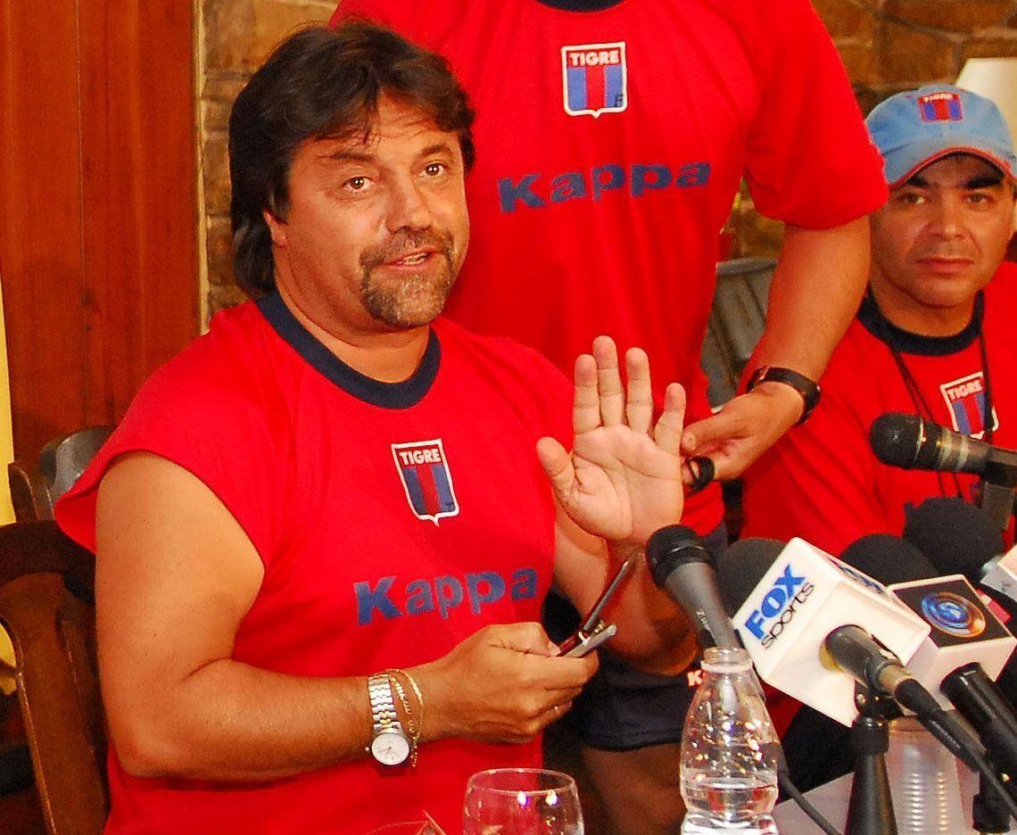 Caruso Lombardi inició su tercer ciclo en Tigre