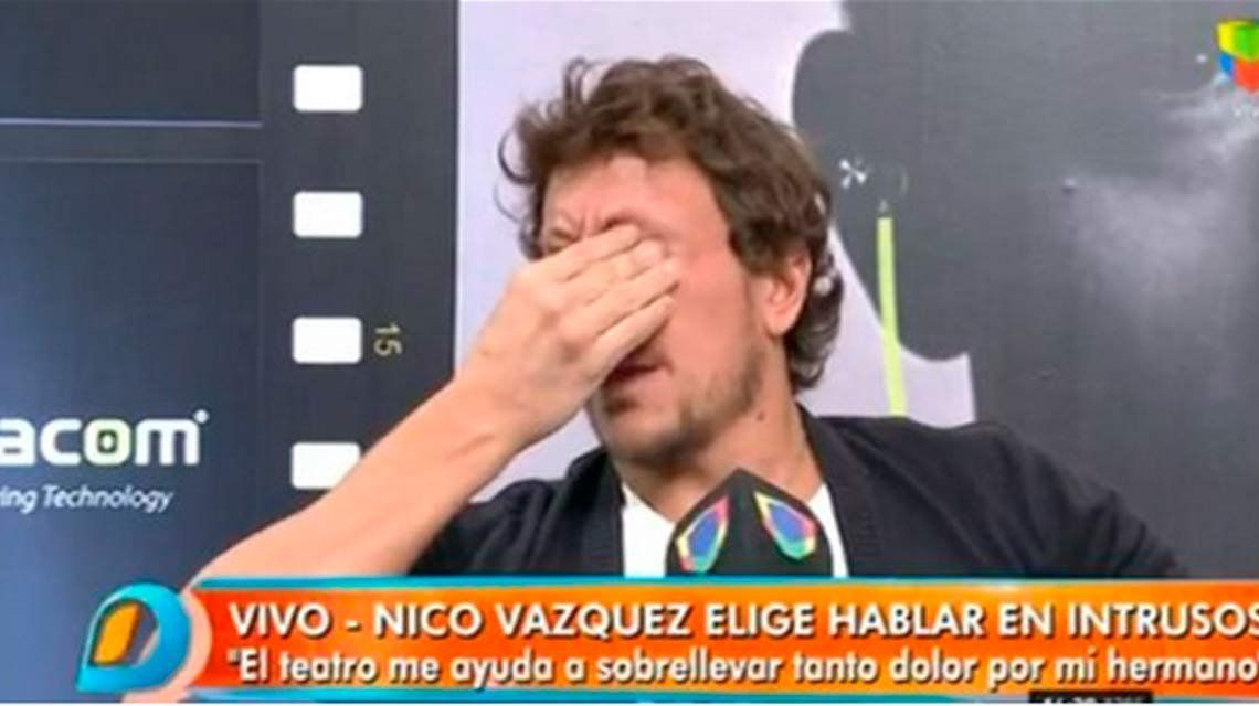 Nico Vázquez contó cómo se despidió de su hermano