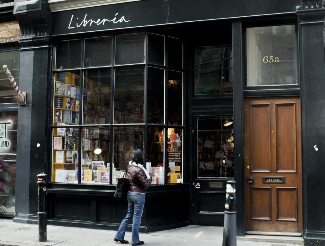 Una librería inspirada en la Biblioteca de Babel de Borges, en Londres