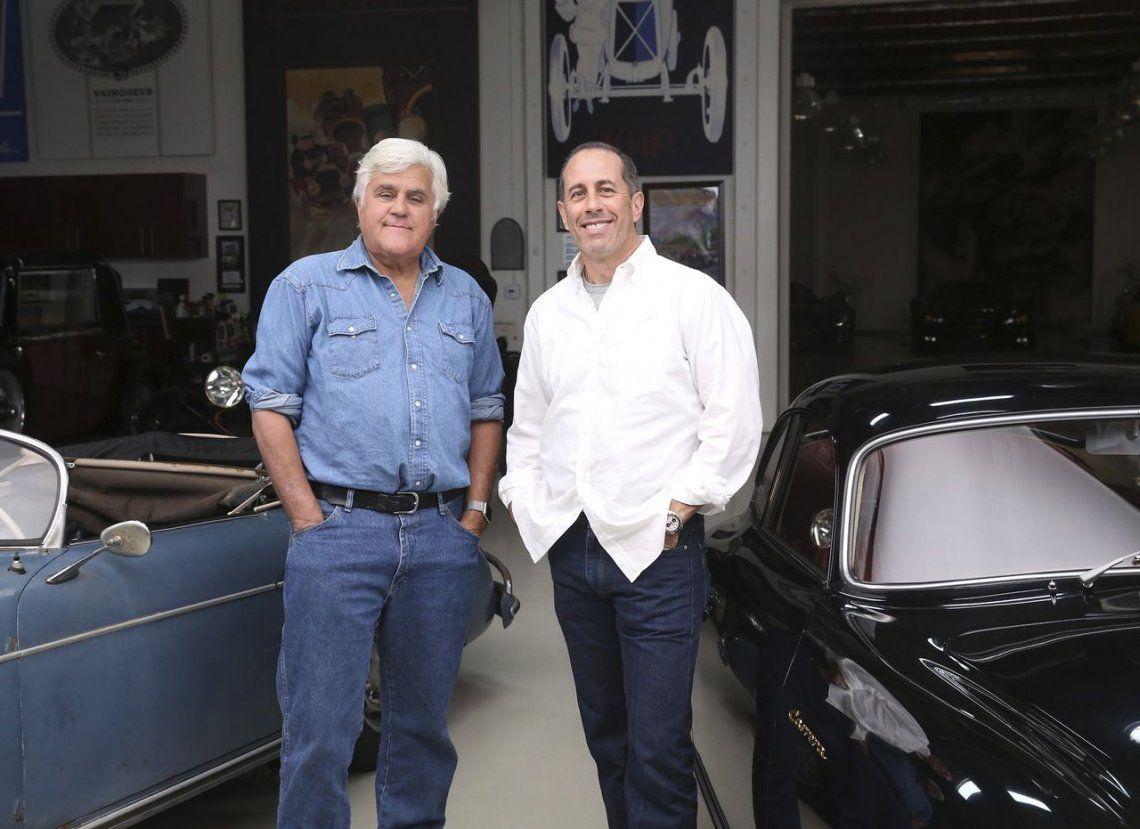 Jay Leno, fan de Fangio y los autos argentinos