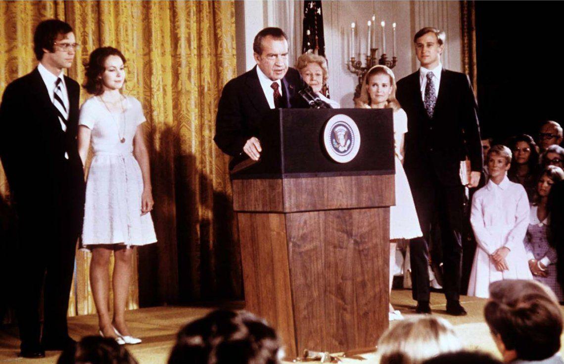 La renuncia de Richard Nixon tras el Watergate, hace 46 años