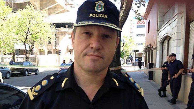 Darío Camerini, el ex jefe de la Departamental de La Plata.