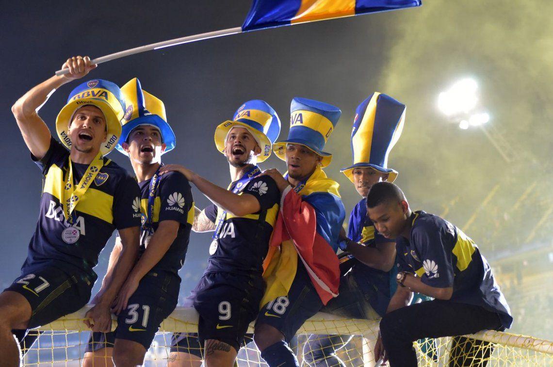 Las 50 mejores fotos de Boca campeón