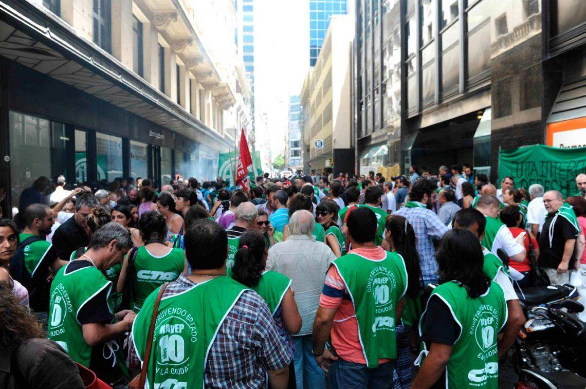 ATE Capital convocó a paro y marcha para este jueves