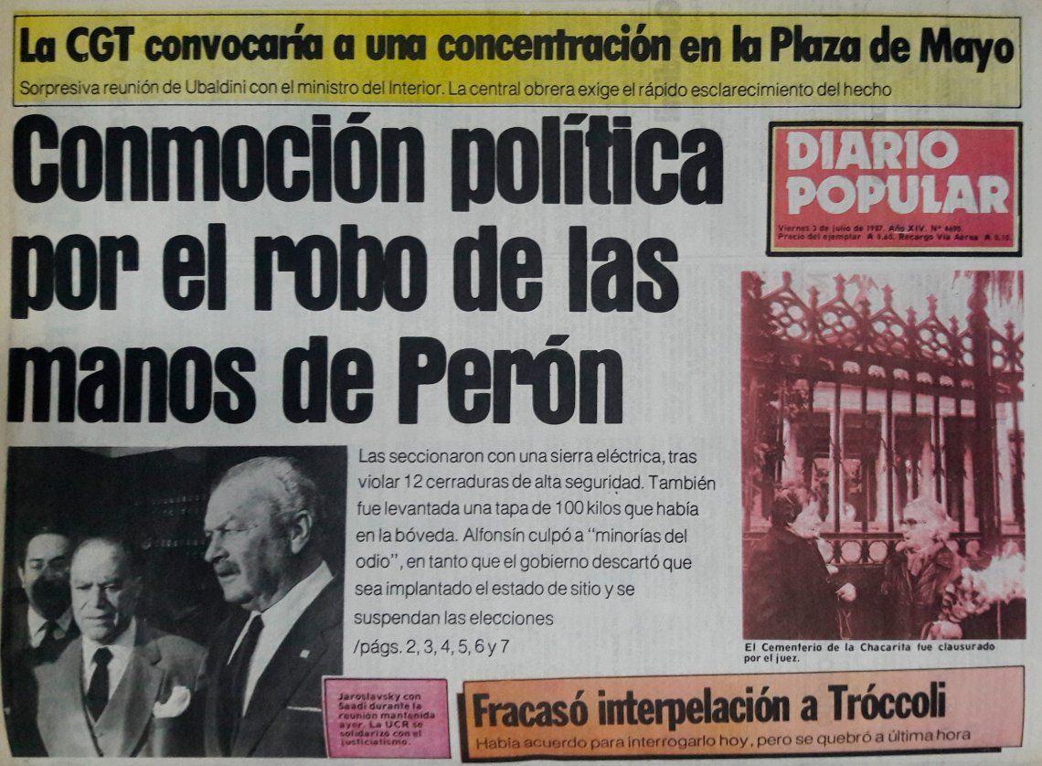 """Resultado de imagen para LAS MANOS DE PERÃ""""N"""
