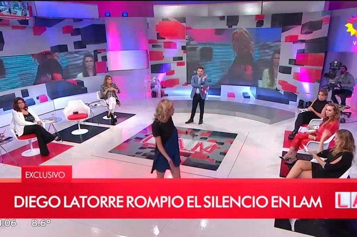 Enojada, Yanina Latorre abandonó Los Ángeles de la Mañana en vivo