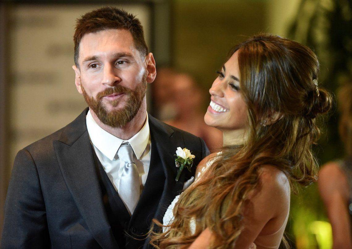 Lionel Messi compartió la primera foto de Ciro, su tercer hijo