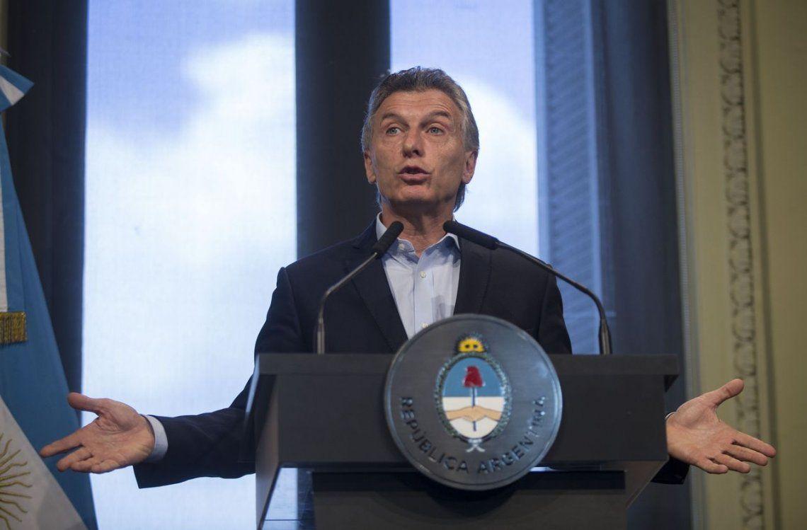 Macri: Tenemos que ir a un sistema donde tengamos elecciones cada cuatro años