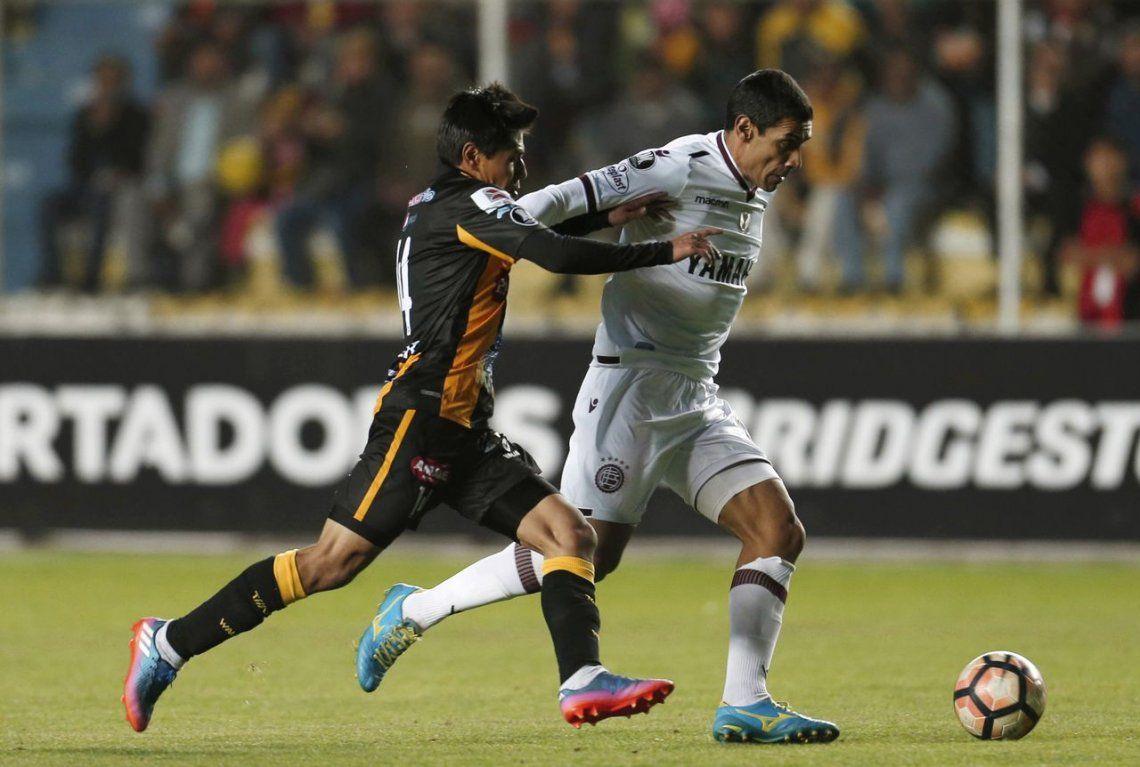 Lanús no lo pudo ganar, pero se trae un buen resultado de Bolivia