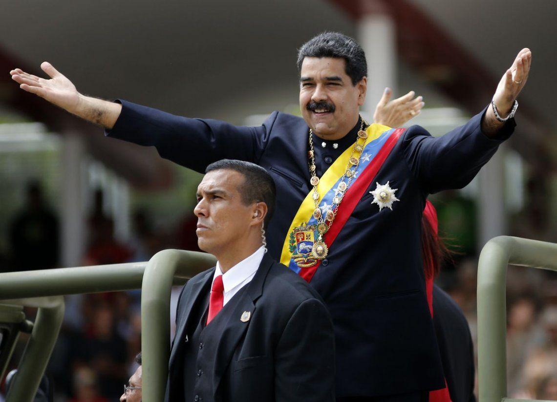 Maduro ignoró el masivo no contra su Gobierno y pidió una oportunidad