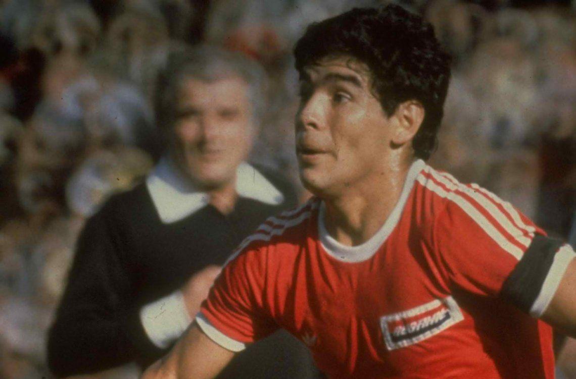 El mensaje de Diego Maradona tras el ascenso de Argentinos Juniors