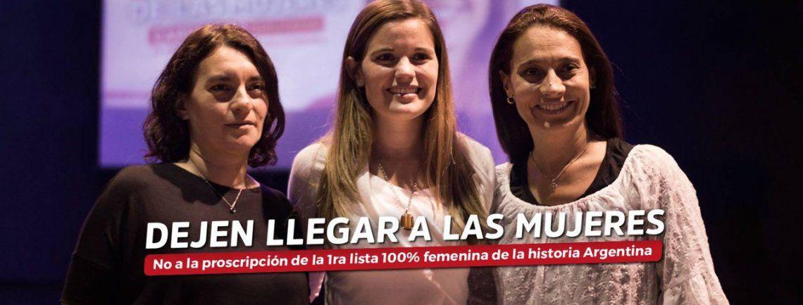 Finalmente, la lista integrada sólo por mujeres no podrá competir en las Elecciones