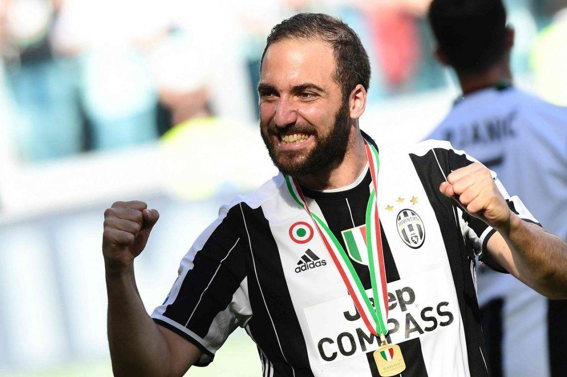 Juventus rechazó 100 millones de euros por Higuaín